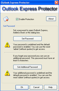 Outlook Express Protector