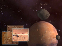 Mars Observation 3D Screensaver