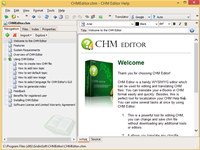 CHM Editor screenshot medium