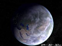 Home Planet Earth 3D Screensaver