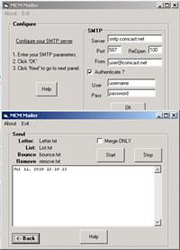 MarshallSoft Client Mailer for Delphi