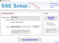 SSE Setup screenshot medium