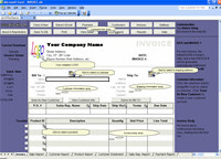 Excel Invoice Manager Platinum 2013 screenshot medium