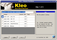 Kleo Bare Metal Backup for Servers