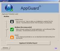 AppGuard screenshot medium