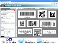 Silverlight Barcode Professional
