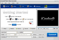 iCoolsoft Flash Video Converter