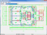 2D DXF DWG CGM SVG HPGL Import DLL screenshot medium