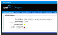 Glimpse Windows® 7 Readiness Tool