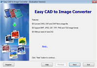Easy CAD to Image Converter screenshot medium