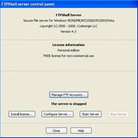 FTPshell Server