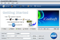 iCoolsoft DVD to WMV Converter