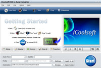 iCoolsoft DVD to Zune Converter