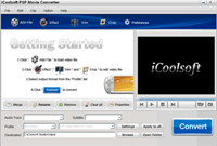 iCoolsoft PSP Movie Converter