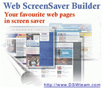 Web Screen Saver Builder screenshot medium