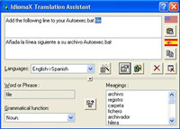 IdiomaX Translation Assistant