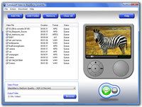 ConvexSoft Video to BlackBerry Converter
