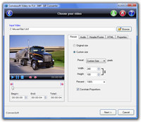 ConvexSoft Video to FLV SWF GIF Convert