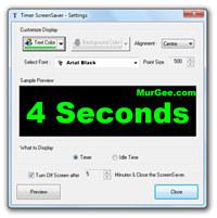 Timer ScreenSaver screenshot medium
