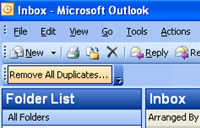 Remove All Duplicates for Outlook