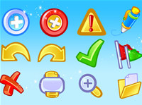 Vector Application Basic Icons