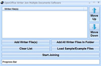 OpenOffice Writer Join Multiple Documents Software