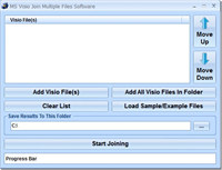 MS Visio Join (Merge, Combine) Multiple Files Software