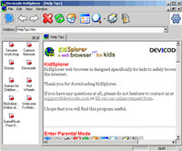 KidSplorer Web Browser