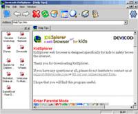 KidSplorer Web Browser