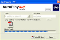 AutoPlay me for PDF