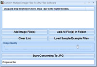 Convert Multiple Image Files To JPG Files Software