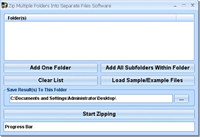 Zip Multiple Folders Into Separate Files Software