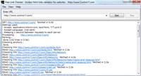 Free Link Checker screenshot medium
