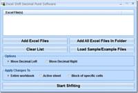 Excel Shift Decimal Point Software