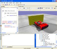 ThreeDimSim:3D Mechanics simulator