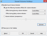 Sound Volume Hotkeys