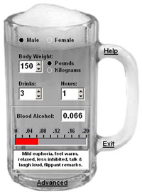 Cheers! Blood Alcohol Calculator screenshot medium