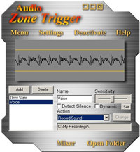 Audio Zone Trigger