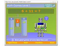 Math Games Level 1