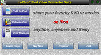 dvdXsoft Zune Video Converter Suite