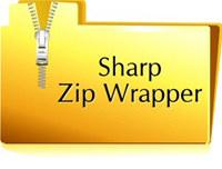 Sharp Zip Wrapper