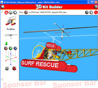 3D Kit Builder (Rescue Helicopter) screenshot medium