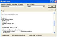 WHOIS ActiveX Control