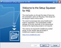 InstallAware Setup Squeezer for MSI
