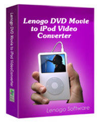 1st Lenogo DVD Movie to iPod Video Conve screenshot medium