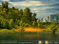 Amazing Lake Screensaver