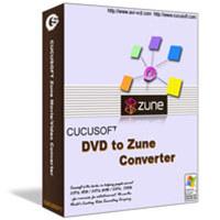 1st Cucusoft DVD to Zune Converter