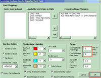 AutoCAD Excel Office2CAD
