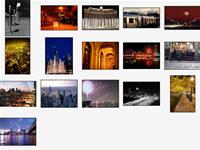Cities at Night Screensaver