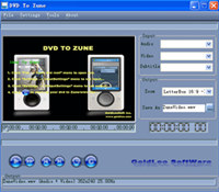DVD TO Zune screenshot medium